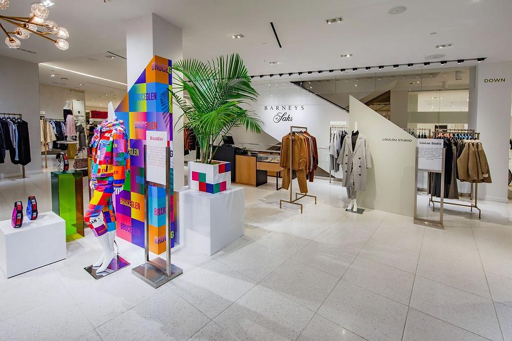 Barneys New York department store.