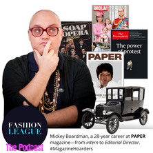 Mickey Boardman, From Intern to Editorial Director at PAPER