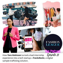 She Turned a Bad Internship Into a Fashion Tech Startup—Tara Robinson, TracksRacks