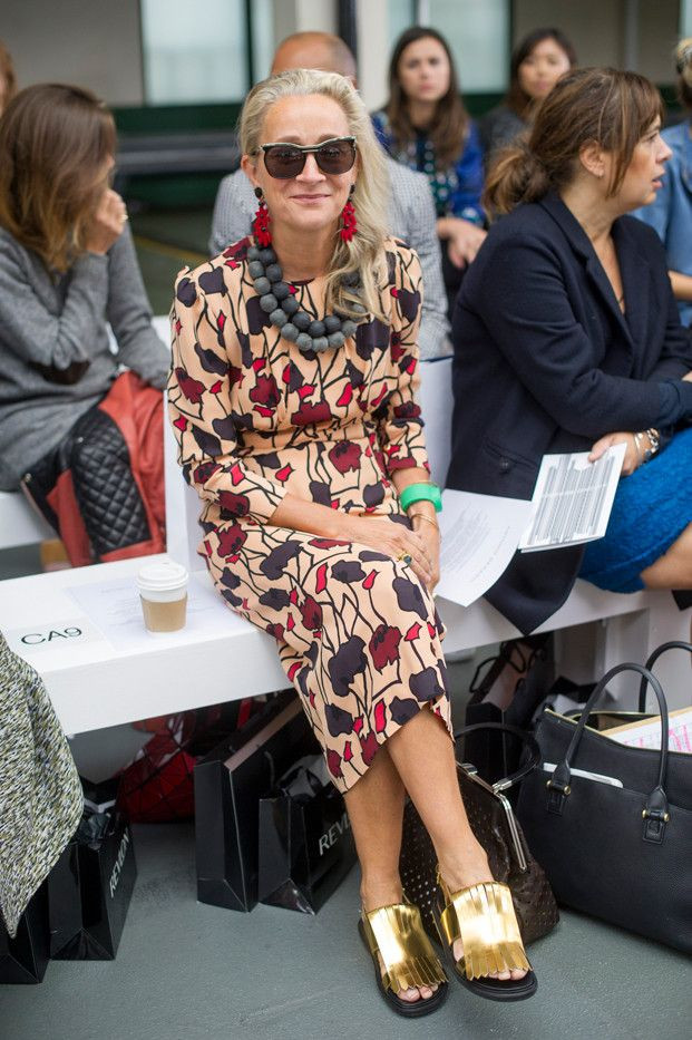 Lucinda Chambers, former Vogue Director