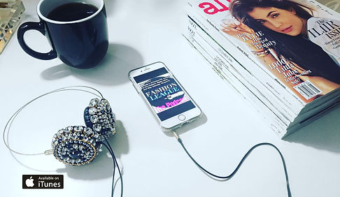 Fashion League magazines podcast iPhone