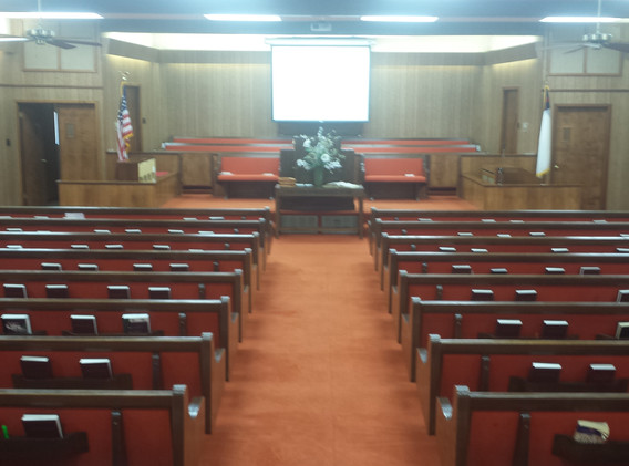 First Baptist Church, Ackerly, Texas bef