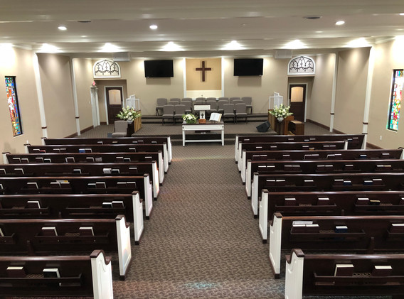 First Baptist Church, Ackerly Texas afte