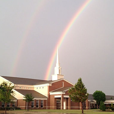 Heritage Church of Christ Ftw.Tx.rainbow