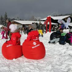 suzuki ski slope branding