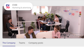 CV30.co - easy and affordable employer branding tool for companies and teams of all sizes