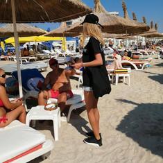 CLEAR beach sampling