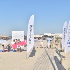 polaroid beach activation