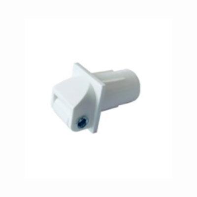 Mini lintgeleider wit voor PVC buis