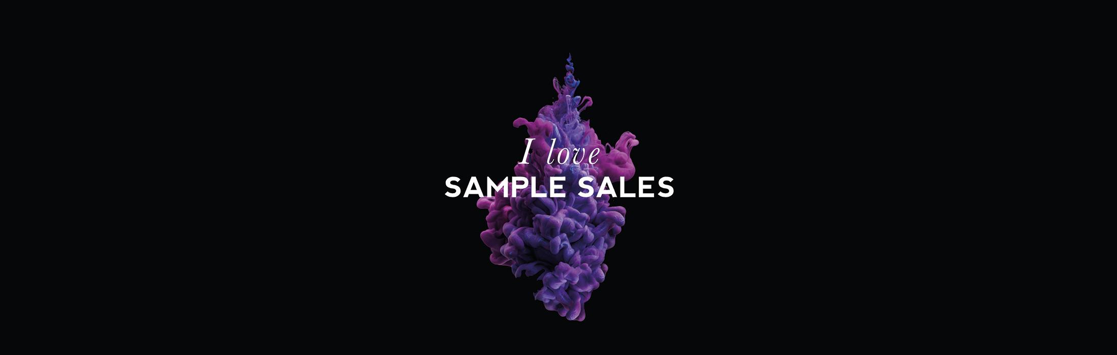 sample sales uitvergroot