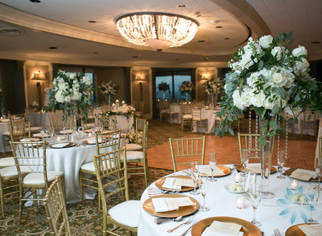 DJ Services with Austin & Jillian's wedding at the Tampa Club .