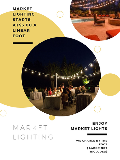 Market Lighting for Lakeland, Tampa, Orlando