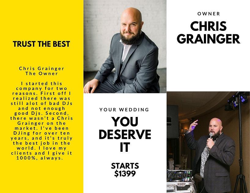 DJ Chris Grainger of Graingertainment