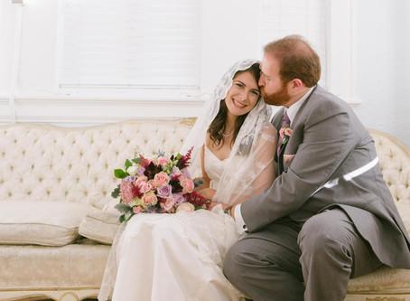 Mr. and Mrs. Maslanik at the Sorosis Building in Lakeland, FL