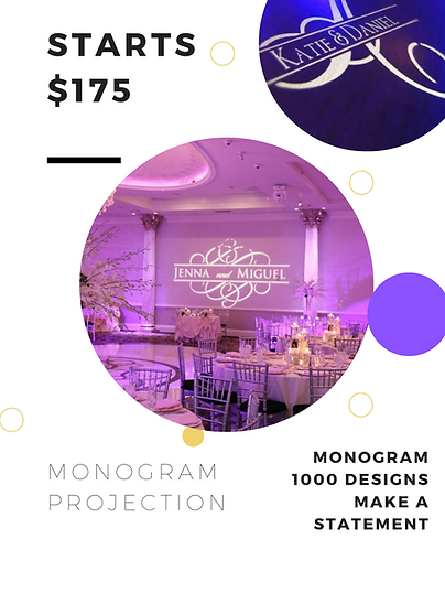 Wedding and Event monograms for Lakeland, Tampa, Orlando Florida