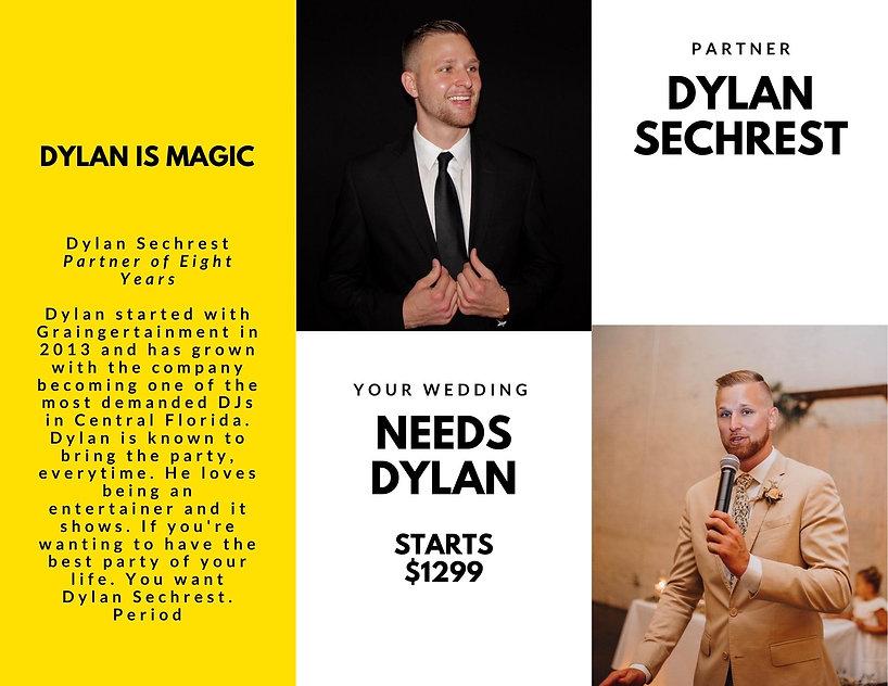 DJ Dylan Sechrest of Graingertainment