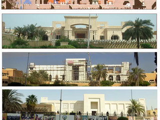 The evolution of the Pietila Minestry building in Kuwait