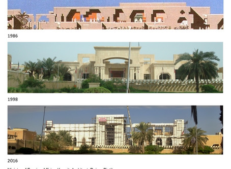 Ministry of Foreign Affairs building in Kuwait gets a further facelift