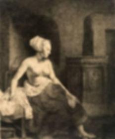 rembrandt-van-rijn-seated-female-nude-16