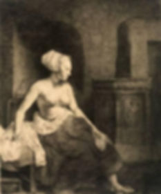 rembrandt-van-rijn-seated-female-nude-16
