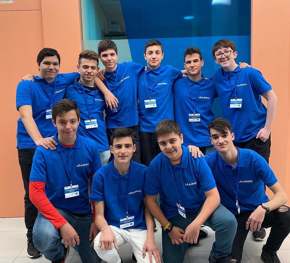 L'equip Learnick Badalonès RoboKiwis