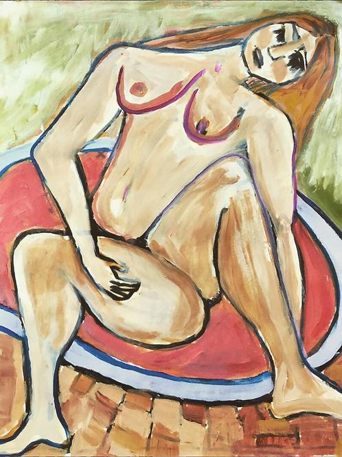 Portrait of a Woman I Erin Bockler