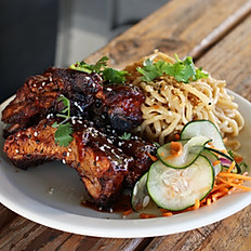 Baby Back Ribs Rice Plate