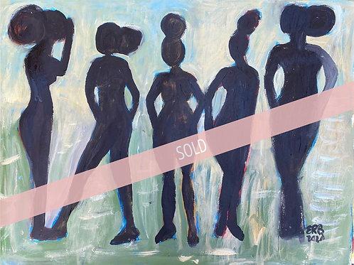 Five in Black I Erin Bockler