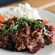 Kalua Pulled Pork Rice Plate