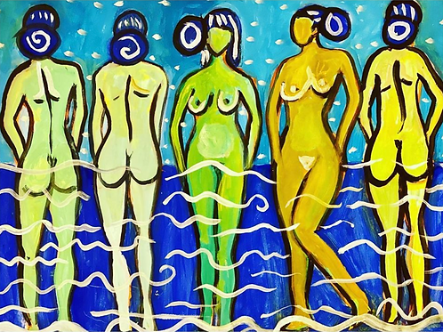 Five At The Shore I Erin Bockler