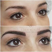 Maquillage permanent sourcils poils à poils marseille toulon beausset eden beaute