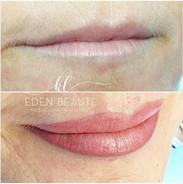 Maquillage permanent lèvre en rattrapage