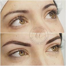 Maquillage permanent des sourcils poils