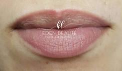 Maquillage permanent cicatrisé voilage d