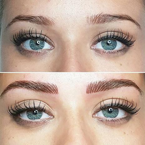 Maquillage permanent Sourcils naturel- tatouage sourcils marseille toulon