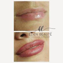 Maquillage permanent bouche 3 D. Contour