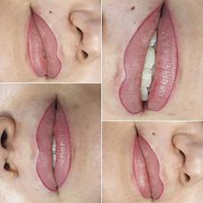 Maquillage permanent Contour levres Les