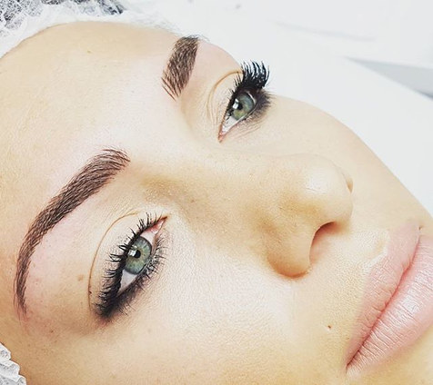 Maquillage permanent Sourcils poils à po