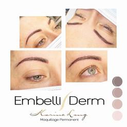 maquillage permanent sourcils embellider