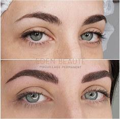 Maquillage Permanent Sourcils poils à poils marseille beausset eden beaute