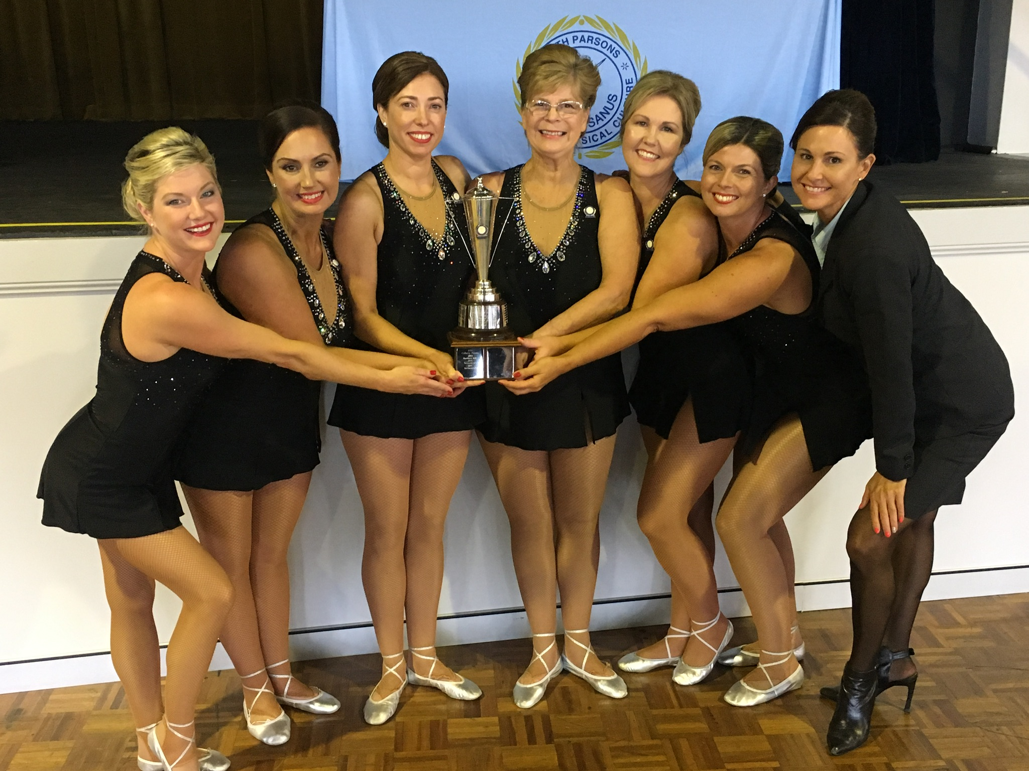 2nd Year Ladies Team Champions 2016