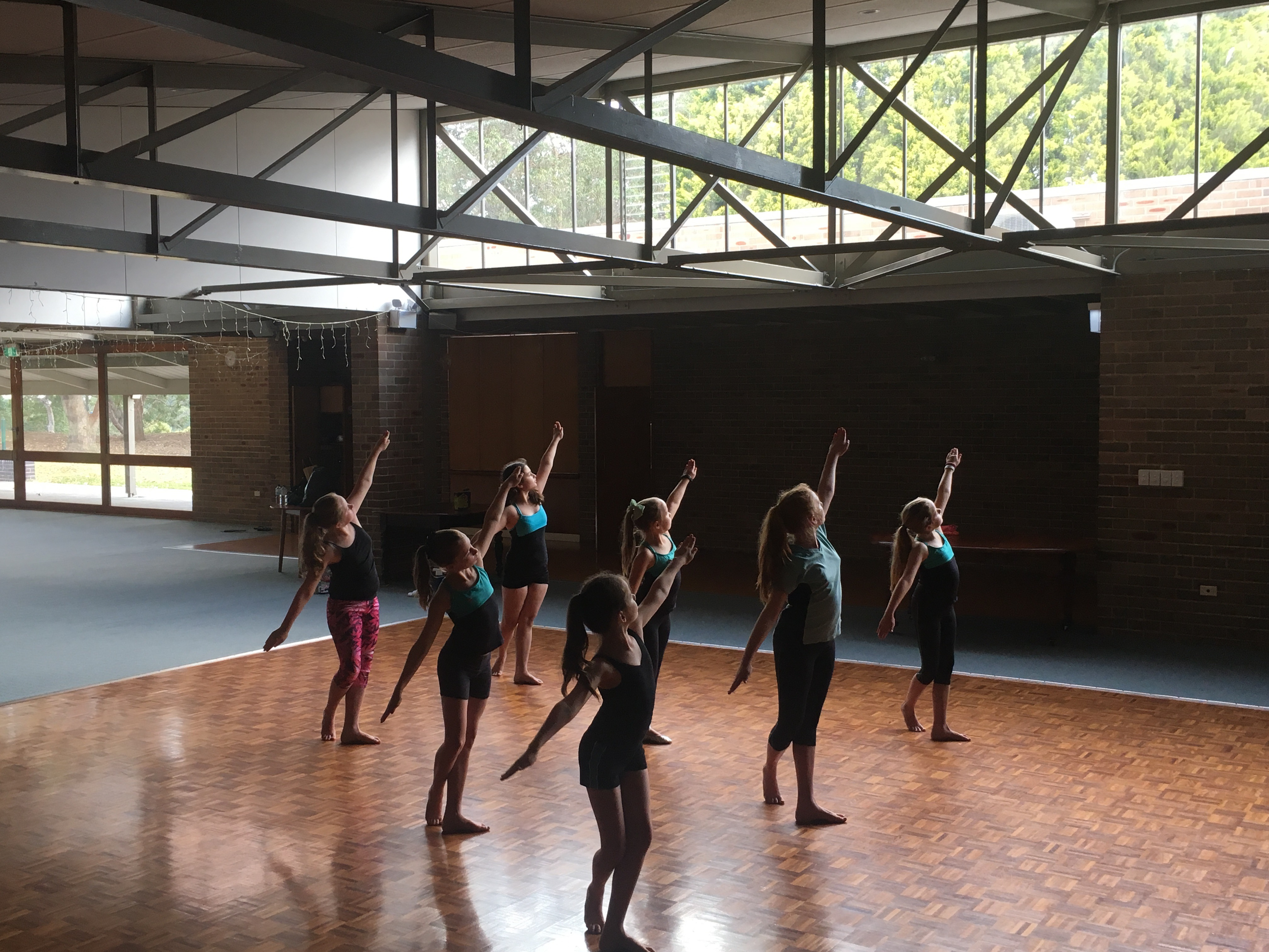 Physie class at Hunters Hill