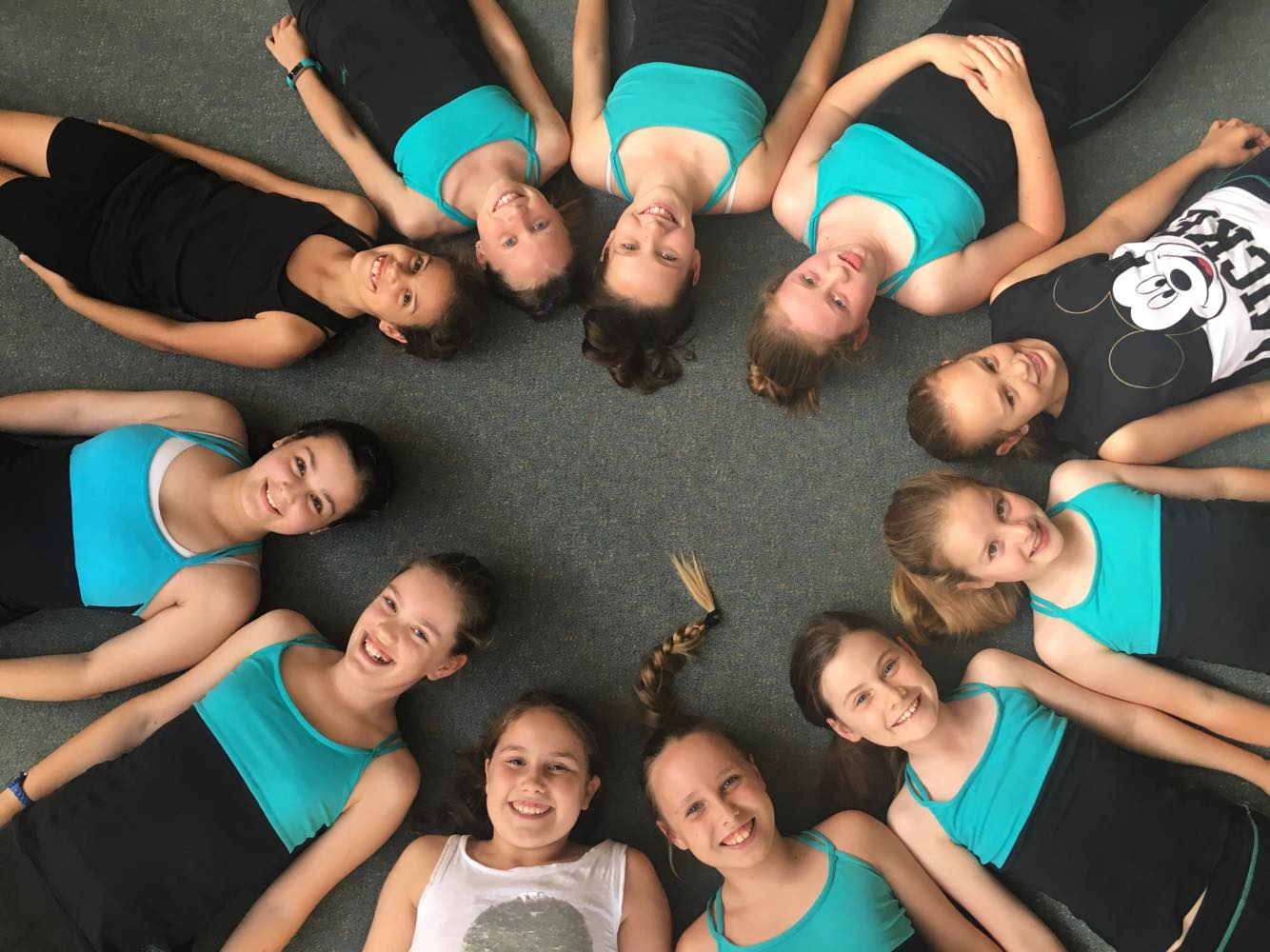 Fun in class at Hunters Hill Physie