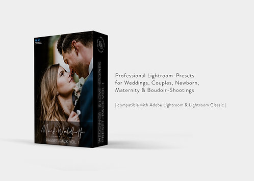 Mark Waldhoff Weddings & Love-Stories Lightroom Preset Pack Vol I