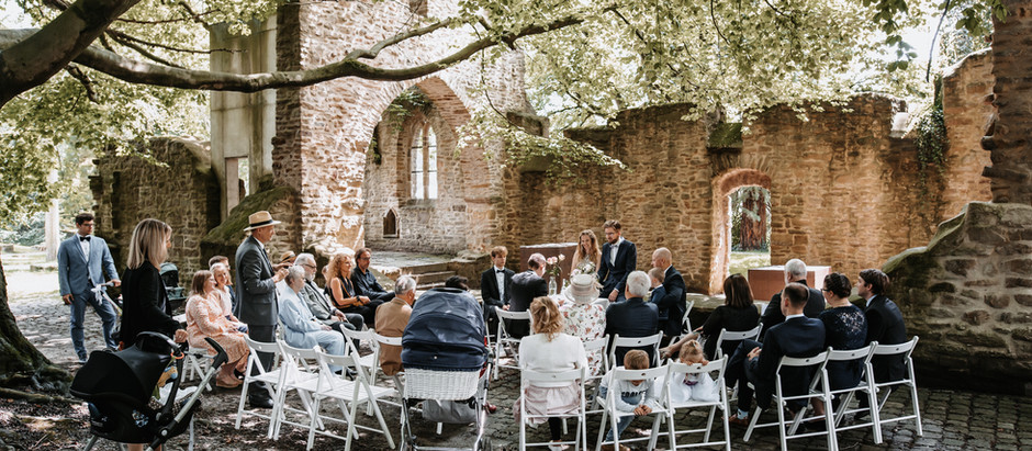 Carolin & Timo: Trauung im Schlosspark Bochum Weitmar | Baristoteles