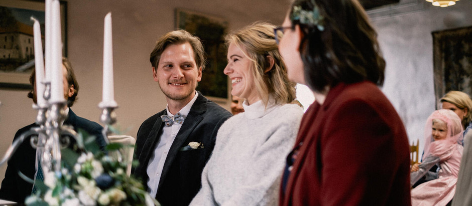 Janina & Dennis: standesamtliche Trauung im Haus Herbede, Witten