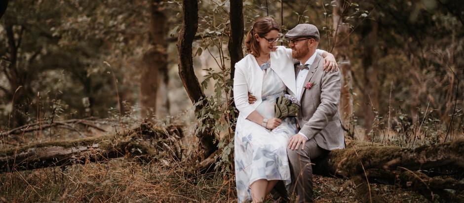 Anne & Jan: Trauung in Bochum-Weitmar | Brautpaar-Shooting am Haus Oveney am Kemnader See