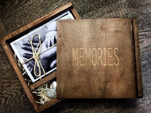 Vepackung Hochzeitsfotos / Taufbilder