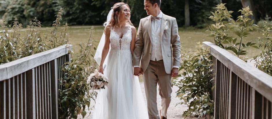 Tatjana & Eddy: standesamtliche Trauung in Velbert + Brautpaar-Shooting am Schloss Borbeck in Essen