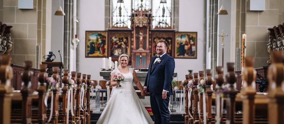 Klaudia & Waldemar's kirchliche Hochzeit